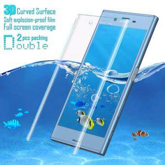 IMAK Full Screen Soft Tempered Glass Protector Film For Sony XperiaXZs Soft Protector Film For Sony Xperia XZ