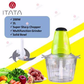 ITATA 2L Electric Meat Grinder Multi-function Small Side Dish Blender Mixing Food Meat Grinders