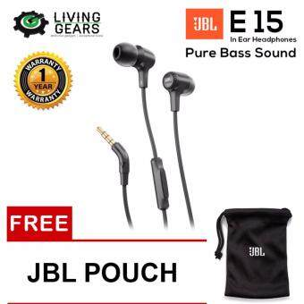 c38572d949b ☪ Hint JBL E15 Signature Pure Bass Wired In-Ear Headphones (NEW ...