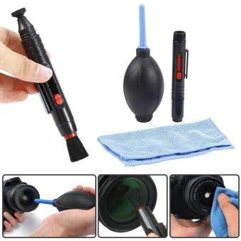 Lens Cleaning Dust Cleaner Pen Blower Cloth Kit for DSLR VCR CameraCanon