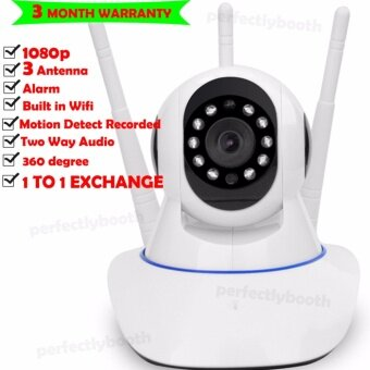 (Local delivery)1080P Night Vision Home Security Wireless IP CCTV Camera