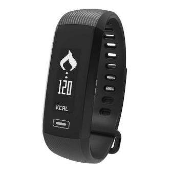 M2 Blood Pressure Heart Rate Monitor Bluetooth Smart Watch Supports IOS Android (Black)