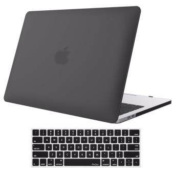 MacBook Case, MacBook Pro 13 inch Case, MacBook Pro 13 inch Case A1706/A1708, 2017 & 2016 Release ,Contain(Frosted Shell,Keyboard Cover)MacBook Pro Case -(Black)