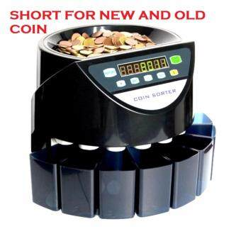 MONEY COIN SORTER ,COIN COUNTER MACHINE-15 YEAR WARRANTY (NEW & OLD COIN)