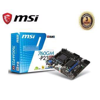 MSI Motherboard AMD AM3+ 760GM-P23 (FX)
