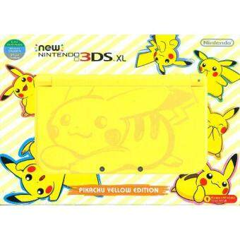 NEW 3DS XL PIKACHU EDITION CONSOLE (ASIA)