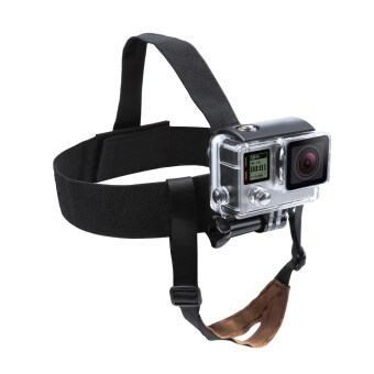 New Style Nylon Head Strap Mount for GoPro Hero 5 4 3 SJCAM SJ4000 Yi 4K Cam with Chin Belt Mount Strap Go Pro Accessory