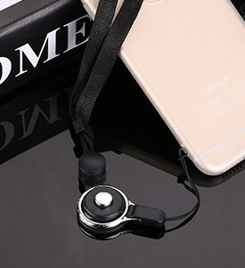 New style second-generation mobile phone lanyard is not Le neck twoin one mobile phone lanyard woven rope ring lanyard mobile phonelanyard