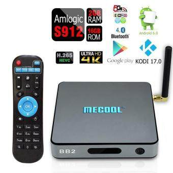 niceEshop BB2 Android 6.0 OTT TV Box Octa Core Amlogic S912 KODI17.0 2G 16G Streaming Media Player