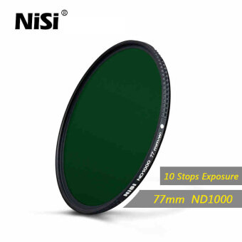 Nisi 77mm Nd1000 Filter Neutral Density Filters Ultra Slim Nd 1000Gray Filter Mirror Landscape Photography Lens