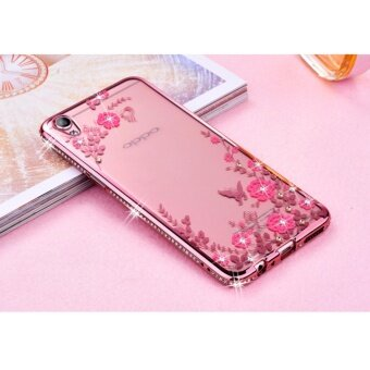 Peacock Source · Secret Garden Rhinestone Soft Shell Case Cover For Oppo A39 .