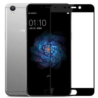 OPPO R9S Full Covered High Quality Tempered Glass Screen Protector-BLACK