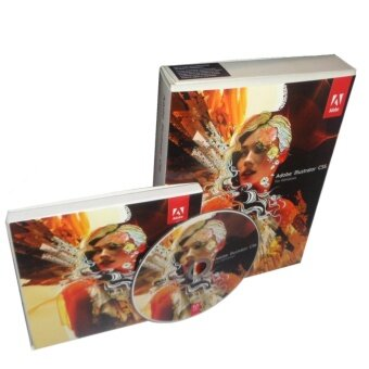 original adobe illustrator cs6 retail box with cd for