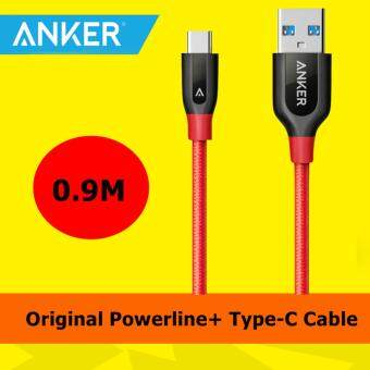 Original Anker A8168 Powerline+ Type-C to USB 3.0 Nylon Cable 0.9M