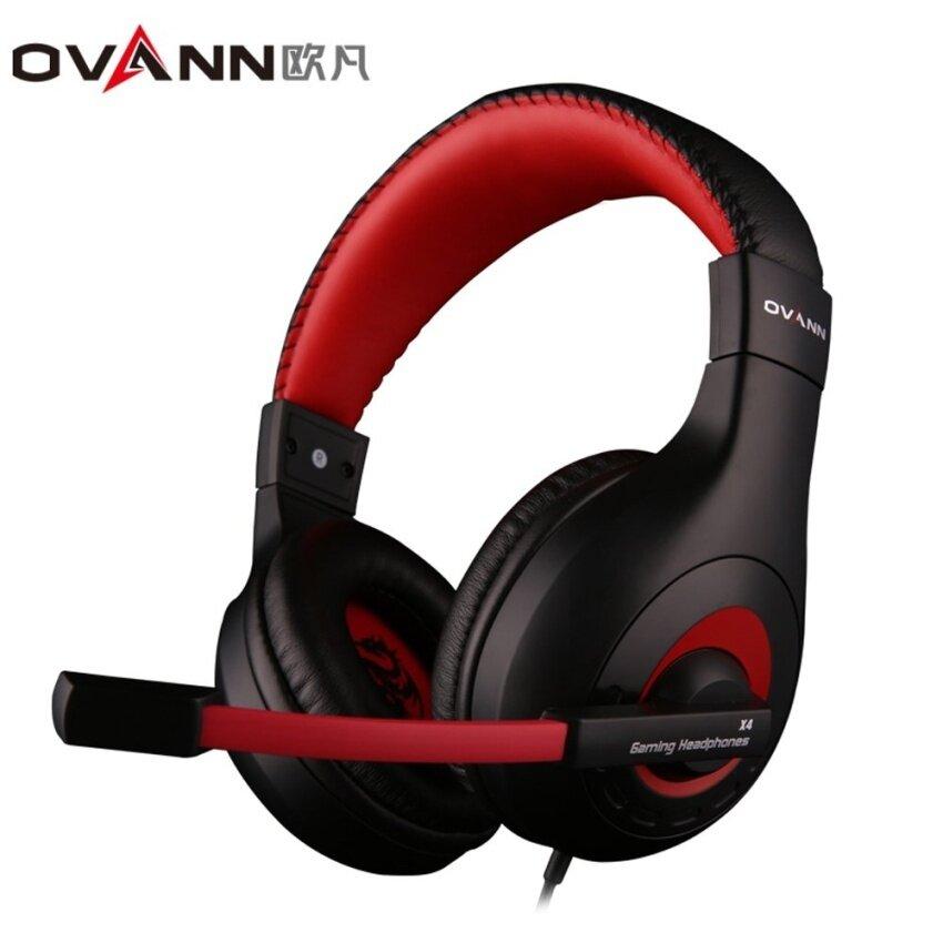 Ovann X4 Berkabel Permainan Headset dengan Mikrofon Volume Control3.5mmAudio Mendongkrak-Internasional
