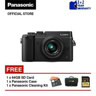Panasonic Lumix G DMC-GX8 Mirrorless Digital Camera with 14 - 42mmLens Kit (Black)
