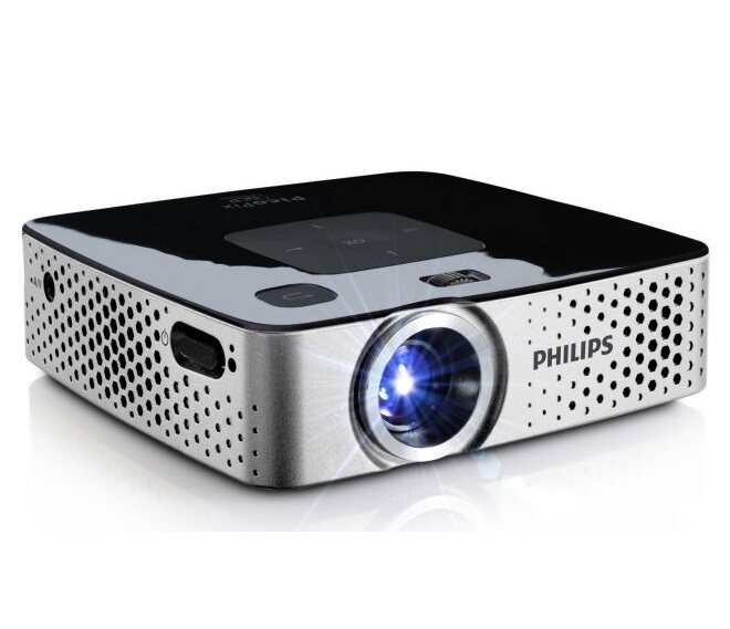 Cl720d hd led projector 1280x800 3000lm eu plug white for Pocket sized hd projector