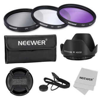 Professional Lens Filter Accessory Kit for Canon Nikon SonySamsungfilm and Other DSLR Camera Lenses