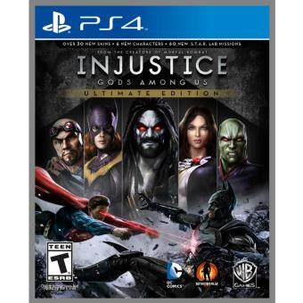 PS4 Injustice: Gods Among Us Ultimate Edition [R1]