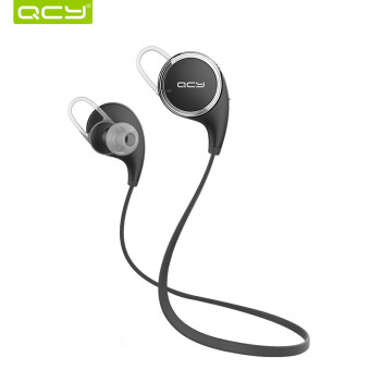 QCY QY8 Bluetooth 4.1 Headphone Earphone Wireless Sport Headsetwith Microphone - Black