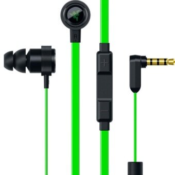 Razer Hammerhead Pro V2 Headphones Omnidirectional Microphone and Volume Controls In-Ear PC and Music Analog Gaming Headset