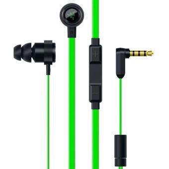 Razer Pro V2 Earphones With Microphone and Volume Controls Headphones In-Ear Earbuds Smart Phone Analog Gaming Headset