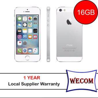 (REFURBISHED) Apple iPhone 5S-16GB-(Silver) [GRADE A]