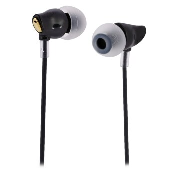 Rock Zircon Nano Stereo Earphone with Mic Hi-Fi 3.5mm Jack Cablefor iPhone 6 6 Plus 6S Samsung S6 (Black)