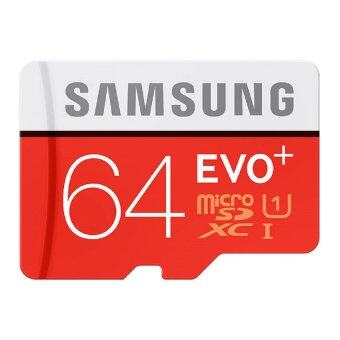 Samsung 64GB 80mb/s EVO Plus Class 10 Micro SD Card with Adapter