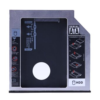 SATA 2nd HDD SSD Hard Drive Caddy for 12.7mm Universal CD / DVD-ROM Optical