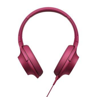 Sony h.ear on MDR-100AAP Hi-Res Over-Ear Stereo Headphones Bordeaux Pink (Sony Warranty)