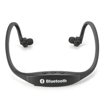 Sports Wireless Stereo Bluetooth Headset Headphone For iPhoneSamsung HTC LG (Black) NEW