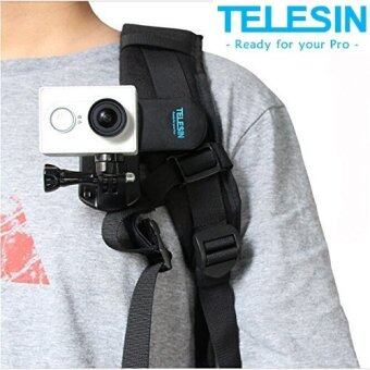 TELESIN Backpack Rec-mounts Clip Fast Clamp Mount for GoPro Hero 5 BLACK 3 3+ 4 YI EKEN SJCAM Action Camera
