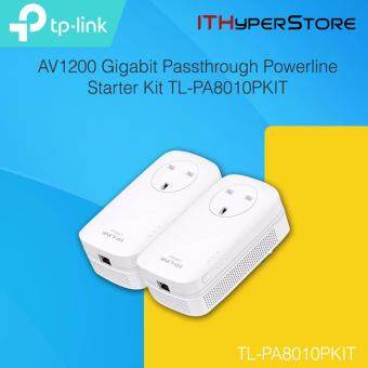 TP-LINK AV1200 GIGABIT PASSTHROUGH POWERLINE STARTER KIT TL-PA8010PKIT