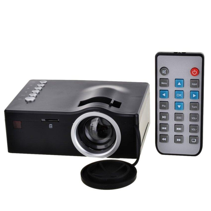 Mini portable yg310 projector pc laptop cvbs usb tf for Small projector for laptop
