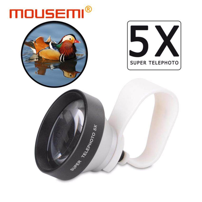 Universal Clip 5x Telescope Lens For Mobile Phone 5x Optical CameraCell Telephoto Zoom Lens For iPhone 5 6s 7 Smartphone Lenses