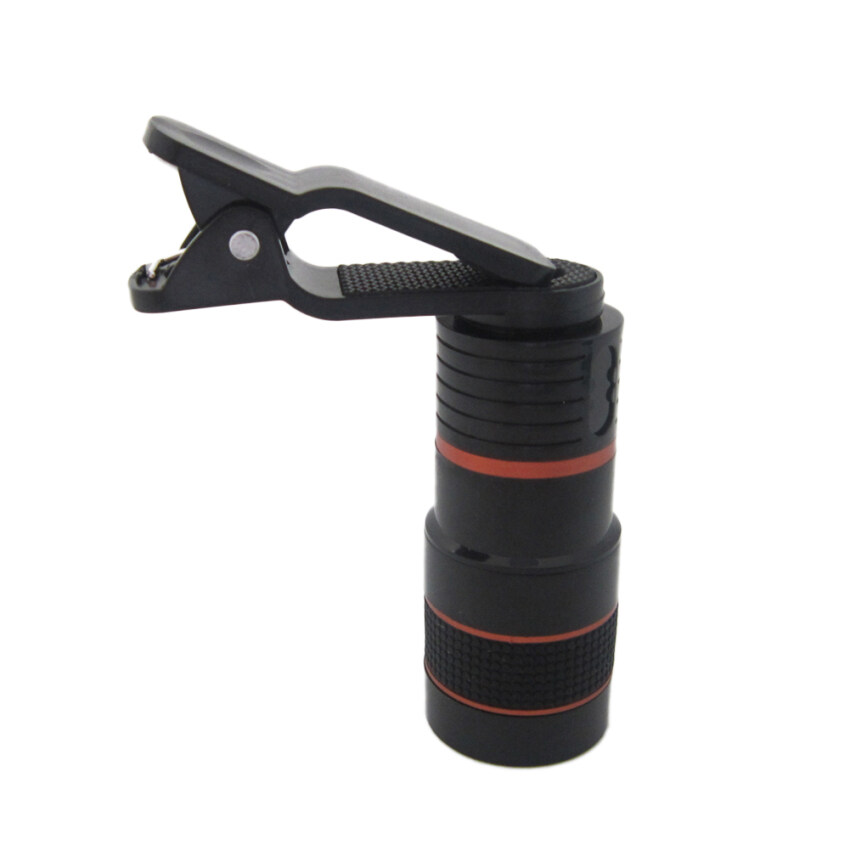Universal Clip-on 8x Zoom Camera Lens Telescope Telephoto foriPhone