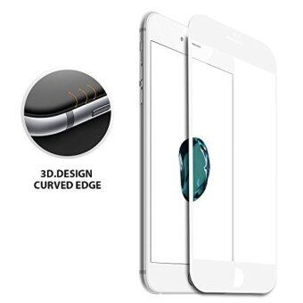 Usams 3D Curved Full Covered Tempered Glass Screen Protector forApple iPhone 7 Plus (White)