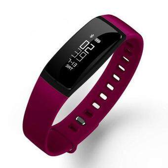 V07 smart watch band blood pressure Heart Rate Monitor Wireless Fitness Bracelet For Android And IOS