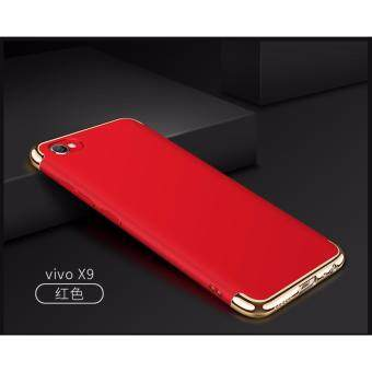 Vivo V5 Plus Luxury Protective Matte Case Cover Casing#READY STOCK(Red)