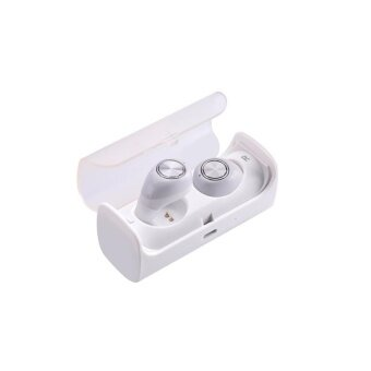 Wireless Earbuds TWS10 True Wireless Stereo Bluetooth 4.1Headphoneswith Charging box Cordless Earphones Sweatproof In-EarHeadset withMic Sport Business Car Earphone
