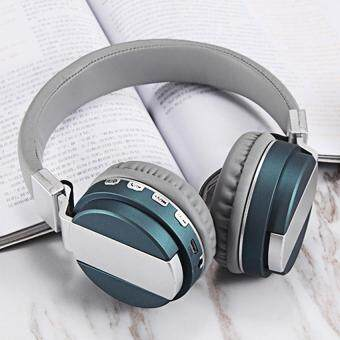 Wireless Headset bluetooth headset foldable Wired Headphones Over ear Earphone With Mic fashion Bass Stereo Support FM Radio MicroSD TF Card for Android IOS smart phone