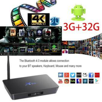 X92 TV Box 3g 32g Amlogic S912 8 Core Android 6.0 Media Player 4K UHD Dual Band WiFi and 1000M Gigabit Ethernet