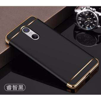Xiaomi Redmi Note 4 / Note 4X (SnapDragon) Luxury Protective Matte Case (Black)