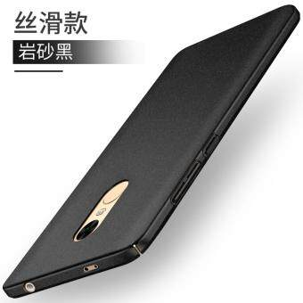 Xiaomi Redmi Note 4 (SNAPDRAGON)/ Note 4x (SNAPDRAGON) Full Covered Matte Case Cover Casing (black)