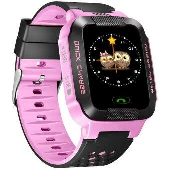 Y21 Touch Screen kids Smart Watch GPRS+GPS+LBS Locator Tracker SOS Call For IOS And Android