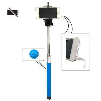 Z07-5S Mobile Phone Monopod Selfie Stick Self Portrait Pole withRemote Shutter Button 3.5mm Cable for iPhone 4S 5 5S 6 6 Plus /Samsung Galaxy S4 S5 S6 / HTC etc