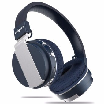 Zealot B17 Wireless Bluetooth Over-The-Ear Headphones FortableStereo Bass Music Headset With Mic Support TF FM (Blue)