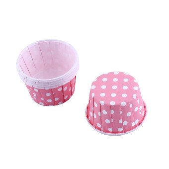 100pcs Paper Cake Cupcake Liner Case Wrapper Muffin Baking Cup forParty Baking Cup Pink