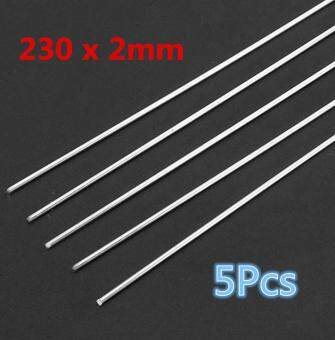 10/20x 230x2mm Low Temp Aluminum Repair Rods For Aluminum/Gas/Argon Arc Welding